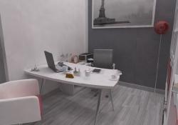 Amenajare Vila Bucuresti - birou, prezentare grafica 3d fotorealista, (detaliu)