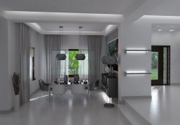 design de interior - amenajare dining 1