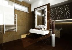 amenajare interioara baie, prezentare grafica 3d fotorealista, (unghi 1)