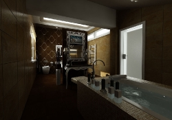 amenajare interioara baie, prezentare grafica 3d fotorealista, (unghi 11)