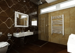 amenajare interioara baie, prezentare grafica 3d fotorealista, (unghi 4)