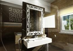 amenajare interioara baie, prezentare grafica 3d fotorealista, (unghi 6)