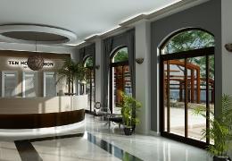 design de interior - Amenajare receptie hotel 2
