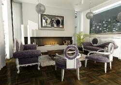 Design de interior - amenajare living stil glamour Design de interior - amenajare living stil glamour cu prezentare 3D fotorelista , (varianta 1) unghi 1