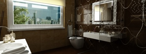 design de interior - Amenajare baie mansarda