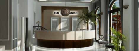 Amenajare Receptie Hotel Ten union